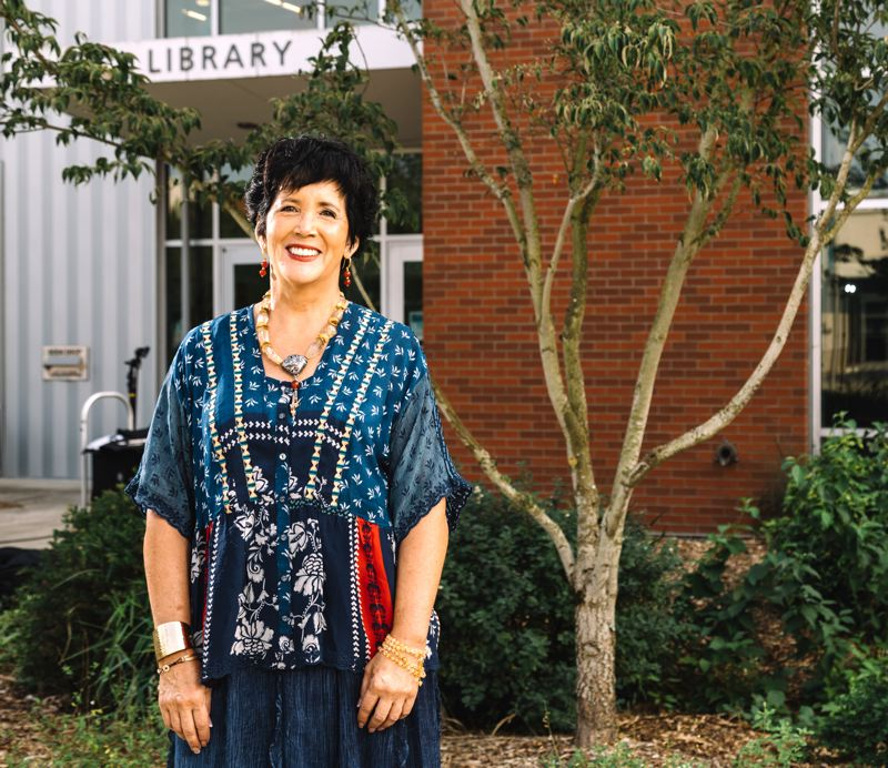 COURTESY PHOTO: PCC FOUNDATION - Portland Community College will name the library at the Southeast Campus The Naito Family Library in honor of the $1 million gift from Anne Naito-Campbell.