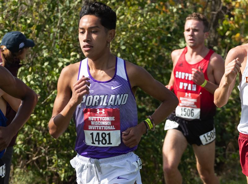 COURTESY PHOTO: PORTLAND ATHLETICS - A redshirt junior from Fresno, California, Evert Silva is one of the top returning runners for the Portland Pilots.