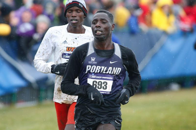 COURTESY PHOTO: PORTLAND ATHLETICS - Redshirt senior Reuben Kiprono is one of three current Pilots who were All-West Region performers in 2019.
