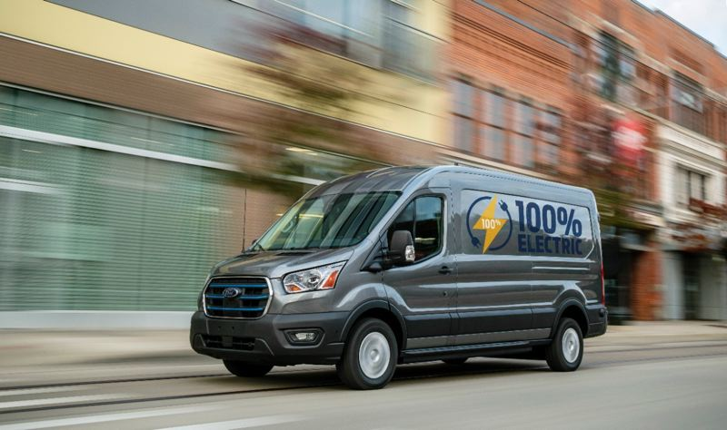 COURTESY FORD - The first E-Transit vans are expected to arrive at area dealers towards the end of 2021.