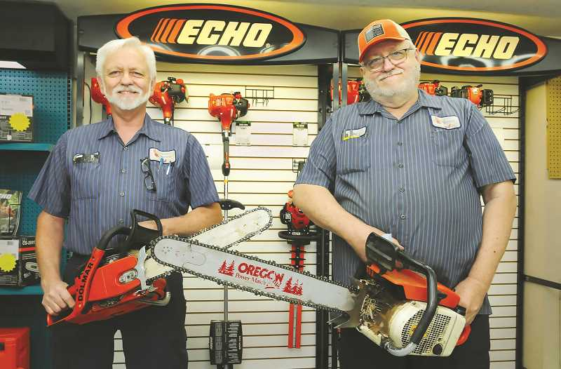 PMG PHOTO: GARY ALLEN - Sam (left) and Don Hulse have operated Midget Motors in Newberg for more than a half-century.
