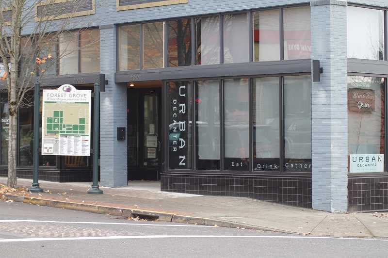 PMG PHOTO: WADE EVANSON - Urban Decanter recently move their location to the corner of Pacific Avenue and Main Street.