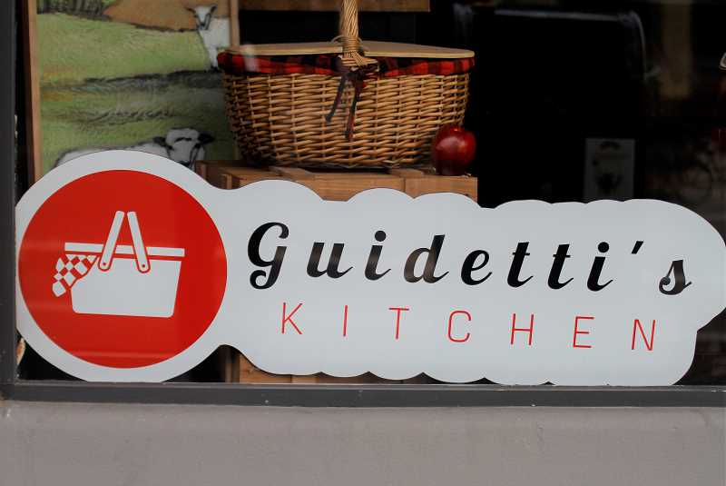 PMG PHOTO: WADE EVANSON - Guidetti's Kitchen relocated to the heart of downtown Forest Grove. Guidetti's has had to adapt its business to survive the COVID-19 pandemic.