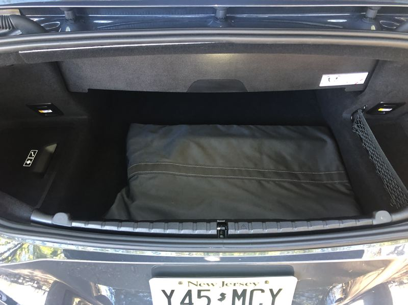 PMG PHOTO: JEFF ZURSCHMEIDE - The M8 has a trunk, but not one that would regularly carry enough luggage for very long trips.