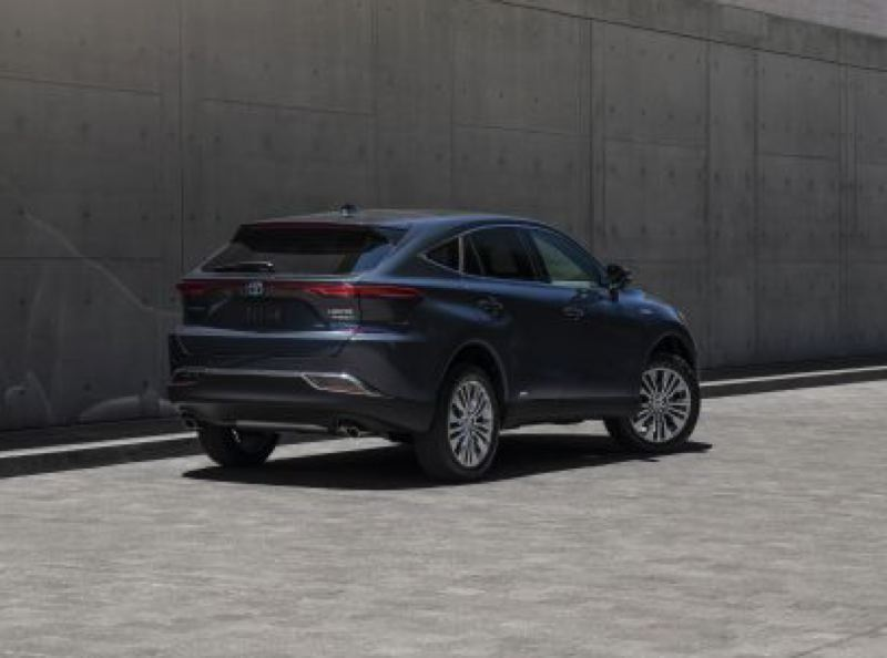 COURTESY TOYOTA - Fastback styling helps set the 2021 Toyota Venza Limited apart from the competition.
