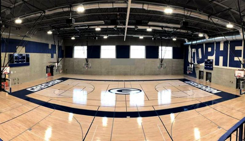 COURTESY PHOTO: GRESHAM HIGH SCHOOL - Gresham High School's shiny, spacious new gymnasium is ready for competition should Season 2 high school sports kick off in January as scheduled.
