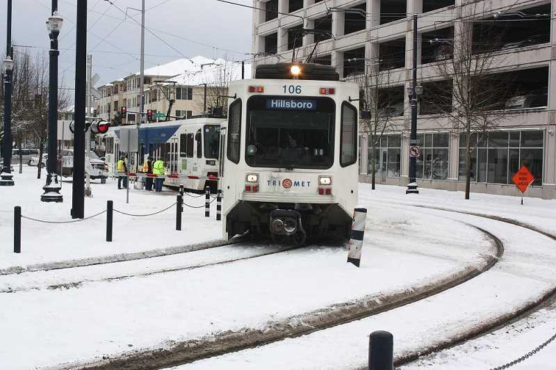 PMG FILE PHOTO - Voters have turned down funding for a new light rail line and 17 regional transportation plans.