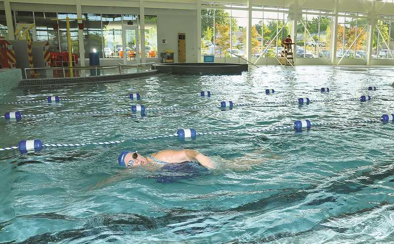 PMG FILE PHOTO - The Chehalem Aquatic and Fitness Center will close Wednesday for two weeks following an order from Gov. Kate Brown last week.