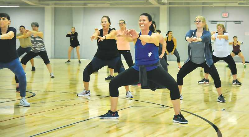 PMG FILE PHOTO - Classes at the fitness center will be stopped as part of a two-week 'freeze' ordered by the state last week.