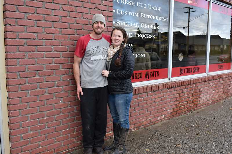 RAMONA MCCALLISTER - John and Candace Frantz took ownership of Cinder Butte Meat Company on Sept. 7. The new name is F5 Smokehouse. It's located on 240 NE Fourth St.