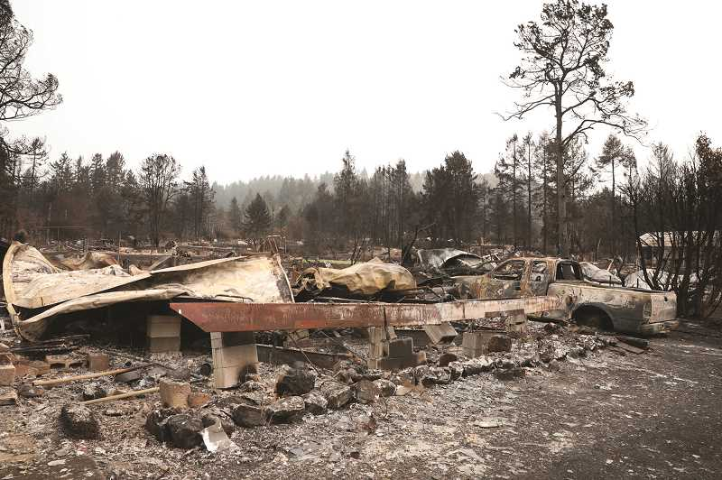 COURTESY PHOTO: FEMA - The Federal Emergency Management Agency has extended the deadline for area residents to receive assistance in the aftermath of the September wildfires.