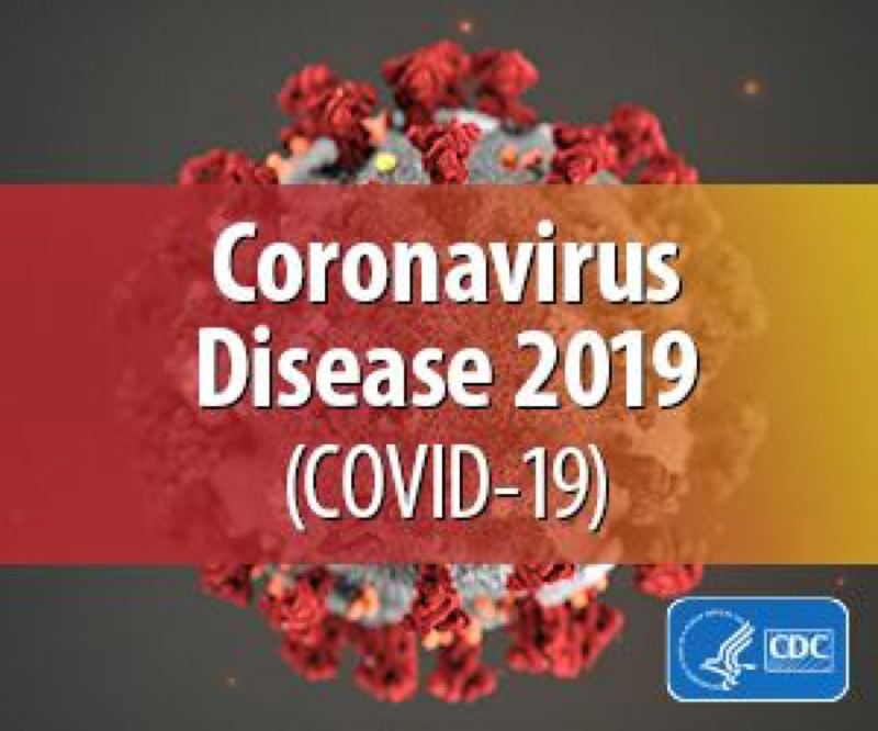 COURTESY PHOTO: CDC - The coronavirus spreads through person-to-person contact within about six feet and through respiratory droplets produced when an infected person coughs or sneezes, according to the CDC.