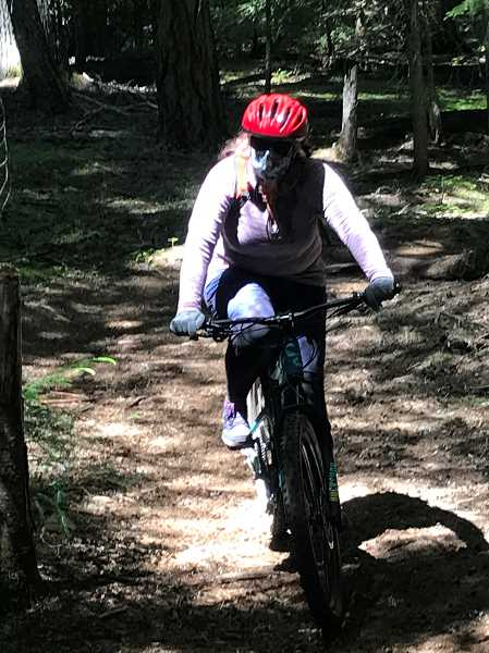 (Image is Clickable Link) Trail biking