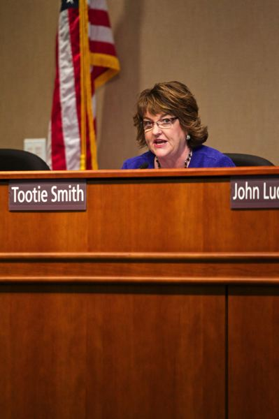 PMG FILE PHOTO - Tootie Smith, who was a member of the Clackamas County Board of Commissioners, says she plans to defy Gov. Kate Brown's limits on Thanksgiving Day celebrations.