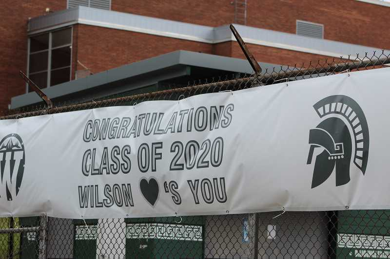 PMG FILE PHOTO - A process to rename Wilson High School is currently underway. It is one of the first schools in Portland to undergo a name change at the behest of students.