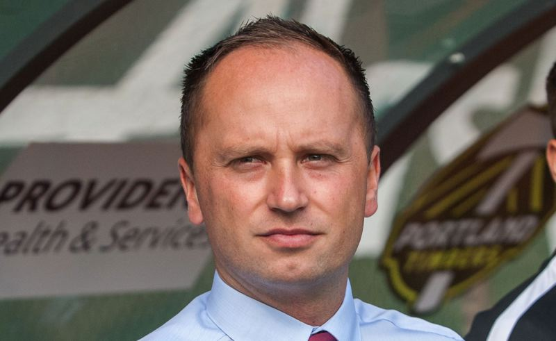 PMG FILE PHOTO: DIEGO G. DIAZ - Thorns coach Mark Parsons liked the transformation his team made during a challenging 2020 and is excited about the future for Portland in 2021 and beyond.