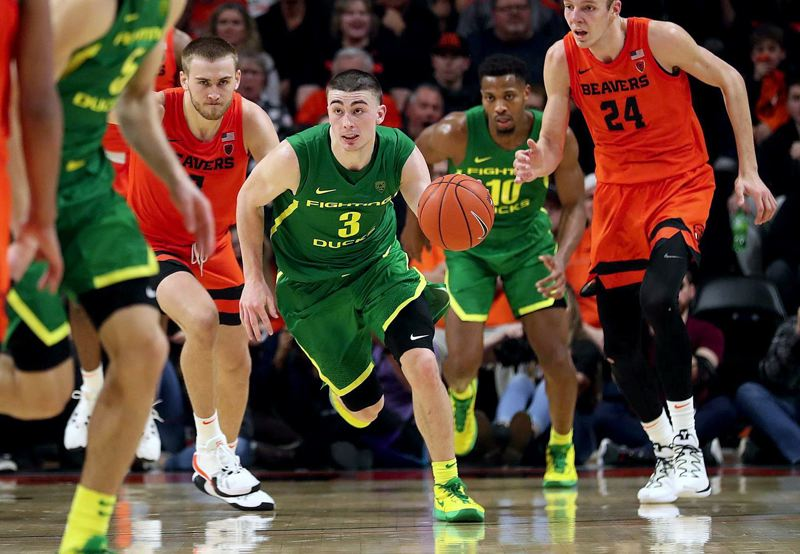 PMG FILE PHOTO - After four all-star seasons at West Linn and another four at Oregon, point guard Payton Pritchard was drafted in the first round of the NBA draft by the Boston Celtics on Wednesday, Nov. 18.