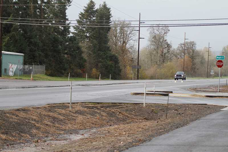 PMG PHOTO: WADE EVANSON - The intersection of Highway 47 and Maple Street/Fern Hill Road has been and continues to be problematic for drivers in and around the Forest Grove area.