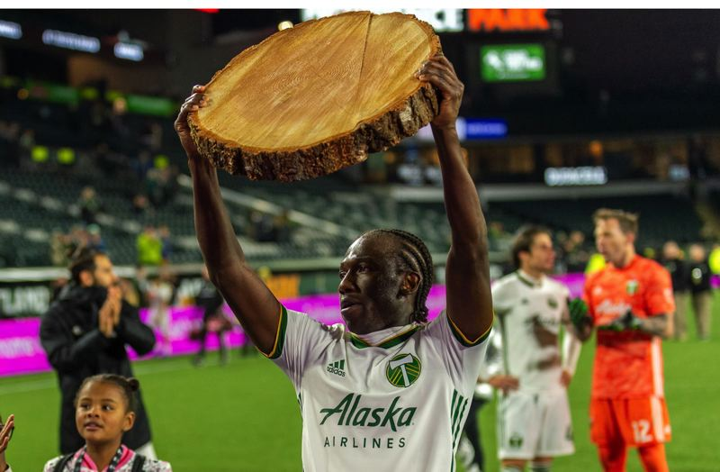PMG FILE PHOTO: DIEGO G. DIAZ - After carrying the lumber for a decade for the Portland Timbers, midfielder Diego Chara has finally been recognized as a member of the MLS Best XI.