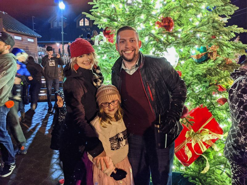 PMG FILE PHOTO: BRITTANY ALLEN - Mayor Stan Pulliam will light the tree in Centennial Plaza while safely distanced from others via livestream Dec. 4.