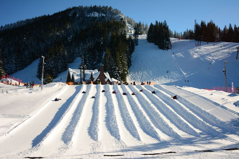 COURTESY PHOTO: MT. HOOD SKIBOWL - Mt. Hood Skibowl will be offering cosmic tubing this season with precautions in place.
