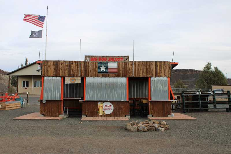 PHOTO: PAT KRUIS/MADRAS PIONEER - The Big Dog Saloon on the Crooked River Ranch is closed indefintely. Owner Randy Knight is hospitalized with an aneurysm and COVID-19.