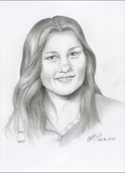 COURTESY PHOTO: CLACKAMAS COUNTY SHERIFFS OFFICE - Investigators have created an age-progressed sketch of 19-year-old Wanda Ann Herr, who disappeared and died more than 40 years ago.