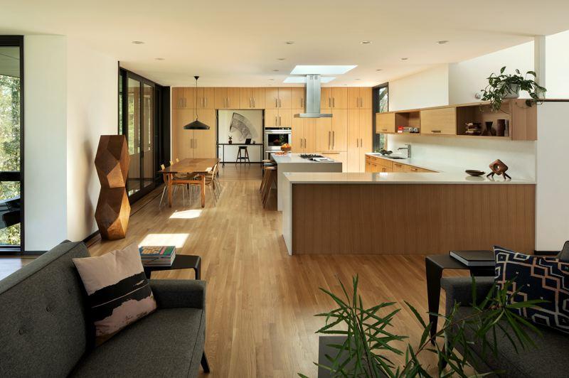 PHOTO: JEREMY BITTERMANN / JBSA - William / Kaven Architecture has won the 2020 Architecture MasterPrize for their Royal home project on Royal Boulevard in the West Hills. Much of the furniture is made in Oregon.