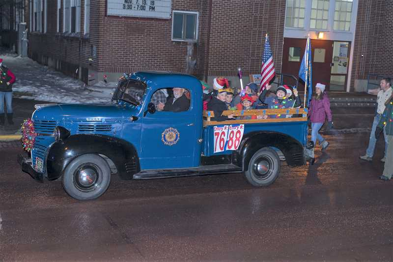 MADRAS-JEFFERSON COUNTY CHAMBER OF COMMERCE PHOTO - The 2020 Christmas parade will be a static drive-thu at the Jefferson County Fairgrounds.