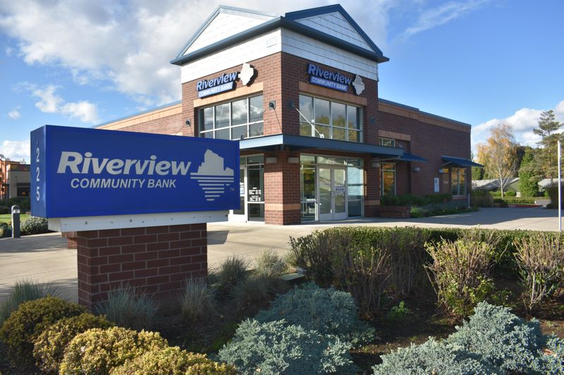 PMG PHOTO: TERESA CARSON - Riverview Community Bank will collect cash, food and personal care supplies from 11 a.m. to 1 p.m. Thursday, Dec. 3, in a drive-through event.