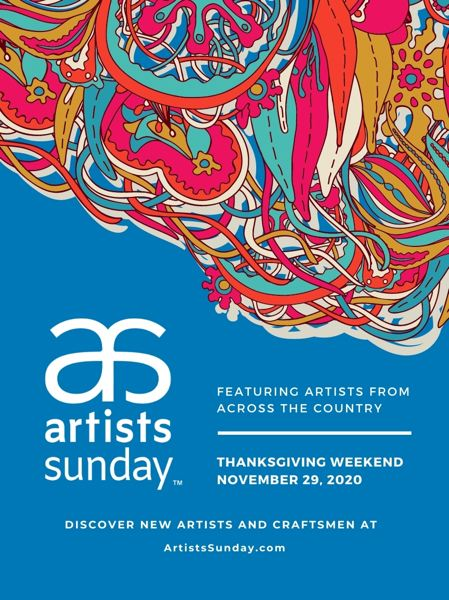 COURTESY: ARTISTS SUNDAY - Sunday, Nov. 29, is the big day for buying one-of-a-kind gifts.