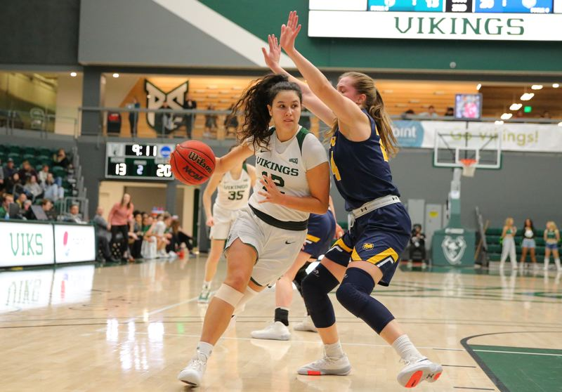 COURTESY PHOTO: PSU ATHLETICS/SCOTT LARSON - Tatiana Streun is hoping to build upon a strong junior season as one of the leaders for the Portland State women's basketball team.