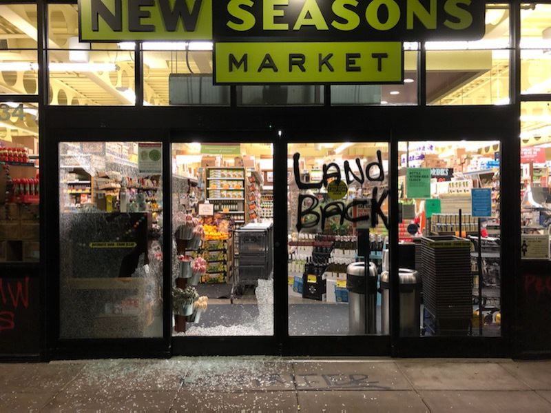PPB: Hawthorne Boulevard businesses hit by vandals