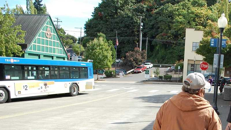 PMG FILE PHOTO: RAYMOND RENDLEMAN - Buses out of the Oregon City Transit Center will be changing their routes in December.