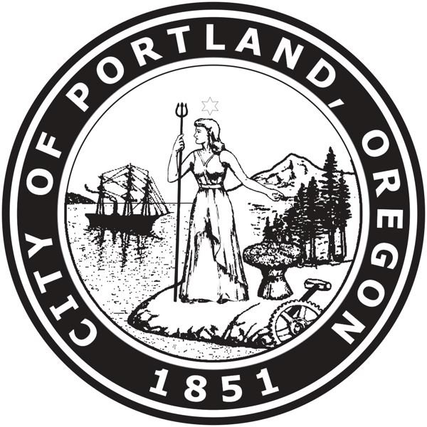 CITY OF PORTLAND - The Seal of the City of Portland.