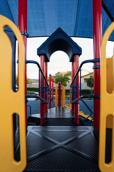 COURTESY PHOTO: RYAN SEPULVEDA FOR UNSPLASH - Portland Public Schools reopened its playgrounds, track and fields.