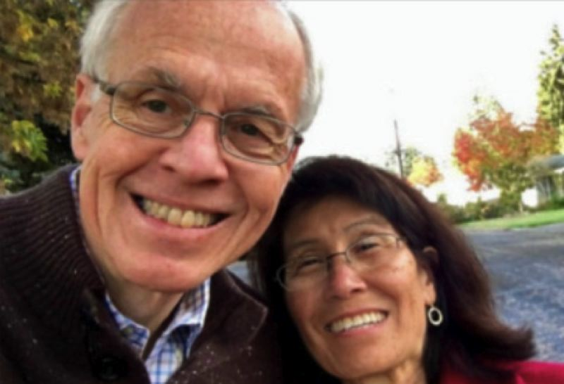 COURTESY PHOTO: KOIN 6 NEWS - Bud and Selma Pierce in a 2016 photo posted on his public Facebook page. Selma Pierce was hit and killed on a Salem road on Tuesday. She was 66.