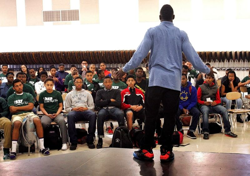 PMG FILE PHOTO - Self Enhancement Inc., a nonprofit organization that reaches out to at-risk urban youth in the Portland area, has received a major contribution from The Standard.