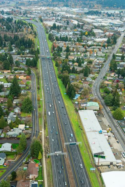 COURTESY PHOTO: ODOT - The Oregon Department of Transportation has proposed tolling sections of Interstate 205 near Oregon City and West Linn.
