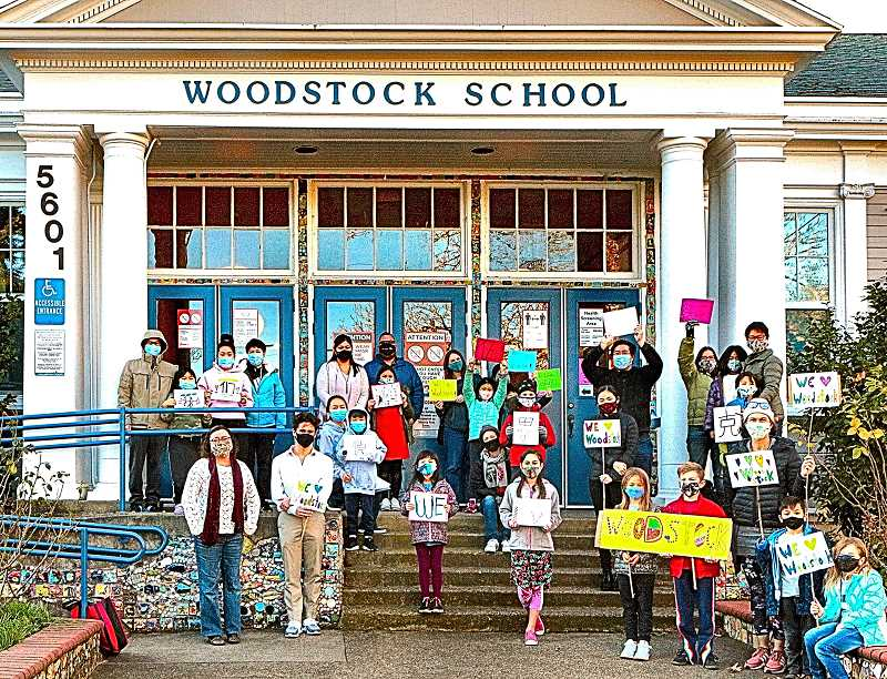 DAVID F. ASHTON - Shu Ren students and families showed up with signs at Woodstock Elementary School in early December - asking Portland Public Schools not to move their highly successful Mandarin Immersion program miles away.