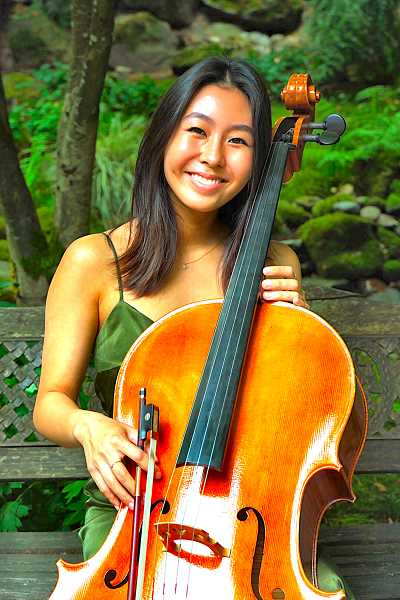 PROVIDED PHOTO - Taylor Youn will study cello performance, with the help of her OMHoF scholarship.