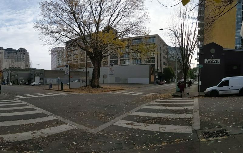 PNG: JOSEPH GALLIVAN - The site in Nov. 2020 of the proposed Hyatt Place in the Pearl District.
