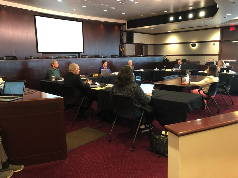 PMG FILE PHOTO: - A Washington County Board of Commissioners meeting in May.