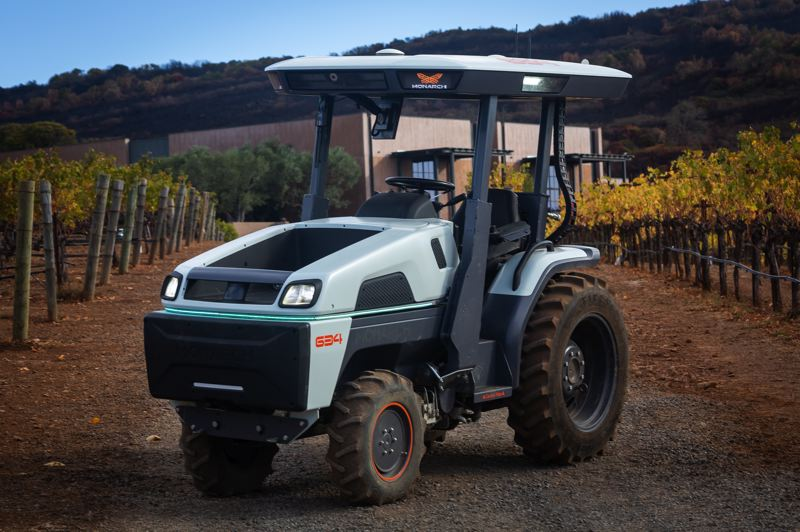 COURTESY MONARCH - The all-new electric Monarch tractor will practically do all the work for you.