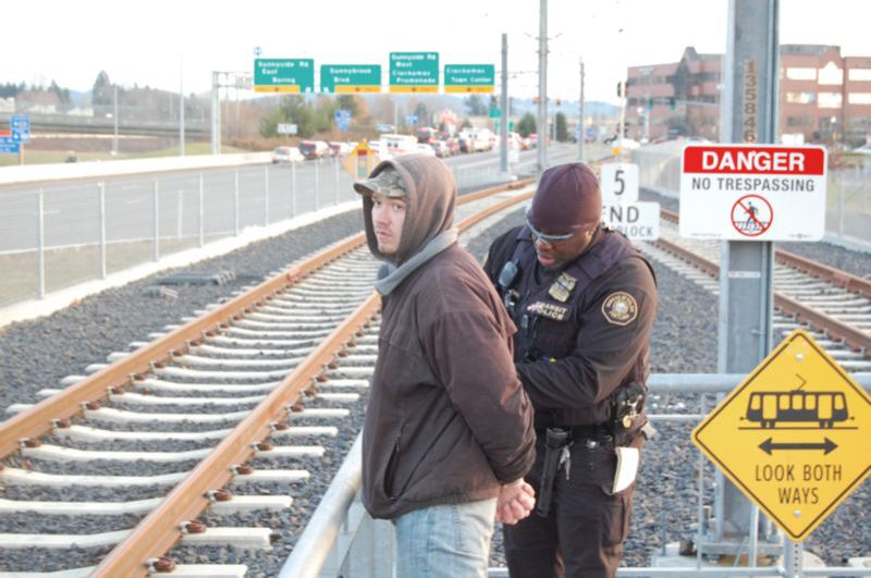 PMG FILE PHOTO - New research shows support for the Transit Police on the TriMet system.