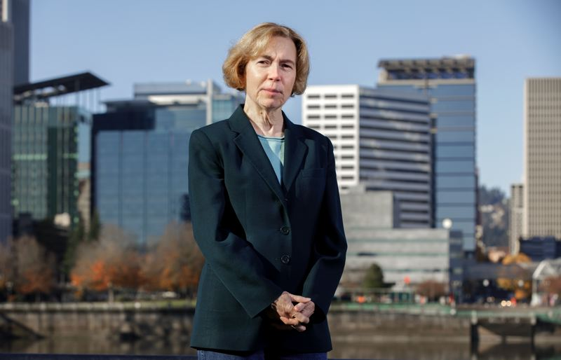 PMG PHOTO: JONATHAN HOUSE - New Metro Councilor-elect Mary Nolan represents much of Portland, including downtown.