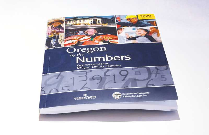 PMG PHOTO: GARY ALLEN - 'Oregon by the Numbers: Key Measures for Oregon and its Counties,' is an effort sponsored by the Ford Family Foundation in concert with the Oregon State University Extension Service.