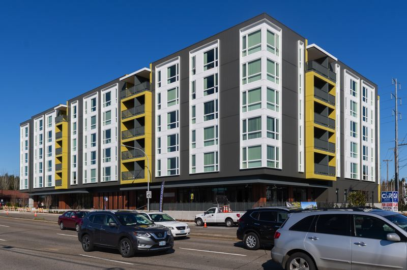 PMG FILE PHOTO  - The Willow Creek Crossing Apartments at 18565 S.W. Baseline Road in the community of Aloha opened in early 2020 after Washington County, Metro and city governments pitched in to create the affordable housing property.