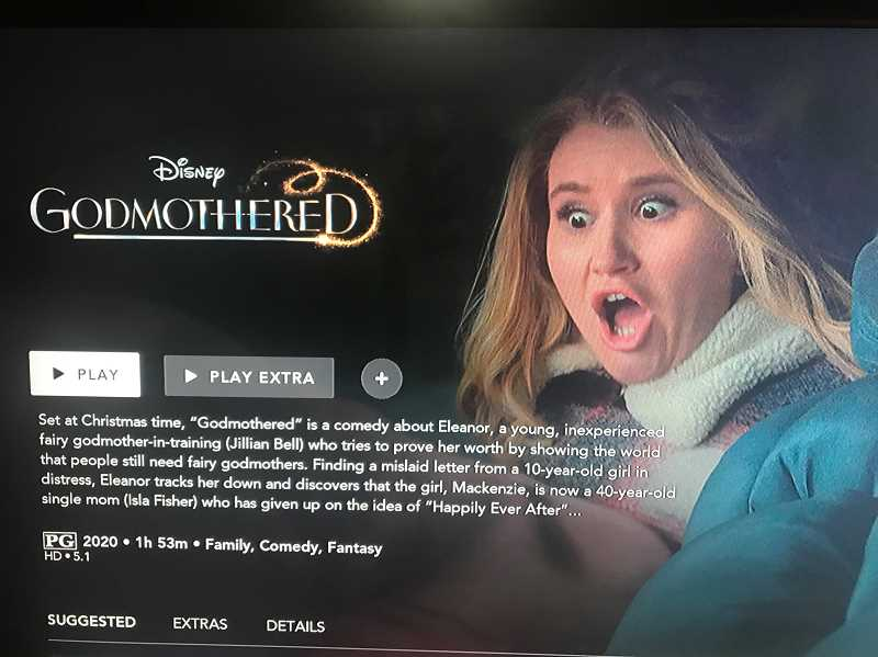 PMG PHOTO - Godmothered is currently streaming on Disney+.