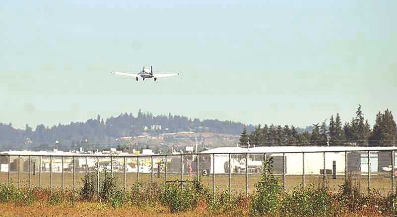 FILE PHOTO - An appeal of an Aurora Airport planning decision was dismissed by the Oregon Land Use  Board of Appeals this week.